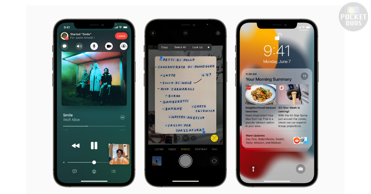 Share Your Screen on the FaceTime Call in the latest iOS 15